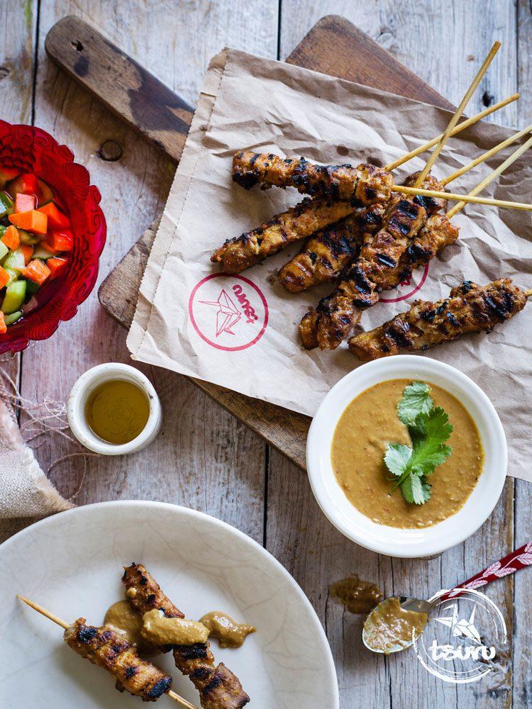 Tsuru Chicken Satay Sticks<br>